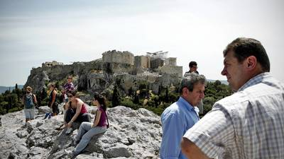 Greece is banking on big tourist season to prime the economy