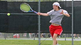Klousia and Sistrunk place at state tennis tournament