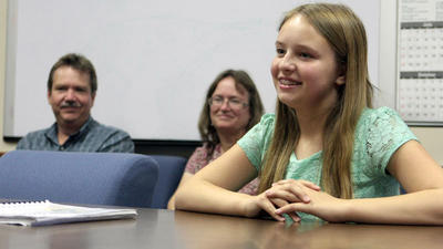 Fusi family preps for National Spelling Bee