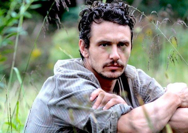 "James Franco in the William Faulkner adaptation ""As I Lay Dying."""