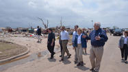 President Obama tours tornado damage in Oklahoma