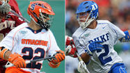 At the conclusion of Monday's NCAA tournament final between the Syracuse and Duke men's lacrosse teams, the winning squad will exult and exhale at the same time.