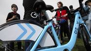 "Divvy, the new rental bicycle that Chicago's transportation chief predicts will become a popular ""bike taxi"" option for short trips, made its debut for test rides at Bike the Drive on Sunday."