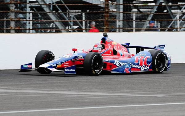 Marco Andretti took fourth at Sunday's Indianapolis 500.