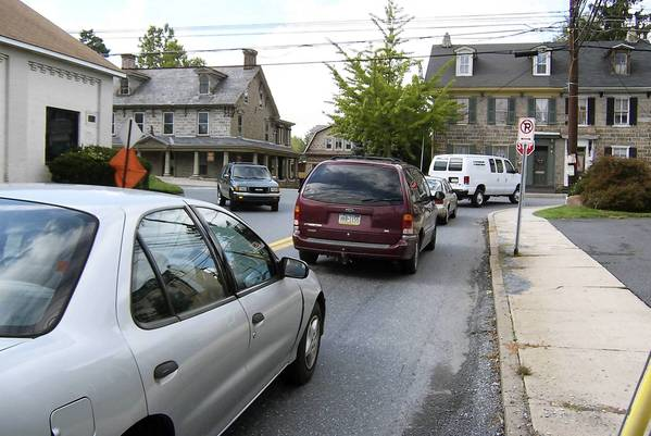 A long-planned bypass connecting Lehigh and Second streets in Catasauqua, eliminating this overburdened intersection at Lehigh and Race streets, has been delayed until late 2014.