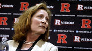 Rutgers doesn't seem able to escape controversy, with the Star-Ledger of Newark, N.J., reporting that Julie Hermann, the university's recently hired athletic director, has an abusive past similar to former men's basketball coach Mike Rice.