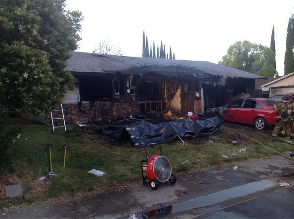 Fire killed an elderly couple in Sacramento.