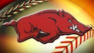 "FAYETTEVILLE, Ark. -- ""The Road to Omaha"" for the Arkansas Razorbacks begins in <span class=""runtimeTopic"">Manhattan</span>, <span class=""runtimeTopic"">Kan.</span>"