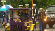"<span style=""font-size: small;"">Rain didn't stop many Michiana communities from holding parades on Memorial Day to honor our military servicemen and women who have put their lives in harm's way to protect our country. </span>"
