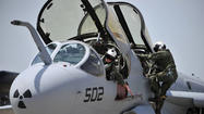 Navy Reserve airborne electronic attack squadron makes final Md. flight
