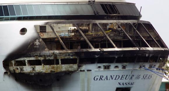 Royal Caribbean cruise ship fire