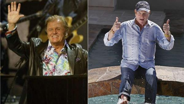 Bruce Johnston, left, and Mike Love, members of the Beach Boys, are to perform in Cancun, Mexico, with a five-piece backup band.