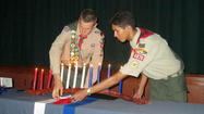 Two El Centro Boy Scouts reached the rank of Eagle Scout on May 18, culminating more than six years of public service and personal growth.