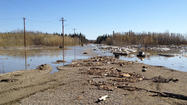 Galena became the most recent area experiencing abnormal flooding along the Yukon River on Monday.