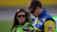 Danica Patrick, boyfriend Ricky Stenhouse Jr., crash in Coca-Cola 600 at Charlotte Motor Speedway, causing tempers to flare with Tony Stewart