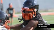 "<span style=""font-size: small;"">With Florida's spring high school football session coming to a close, Oviedo defensive end <strong>Tyree Owens</strong> has decided to zero in on a couple of colleges that have shown him the most attention during the early portion of his recruiting process.</span>"