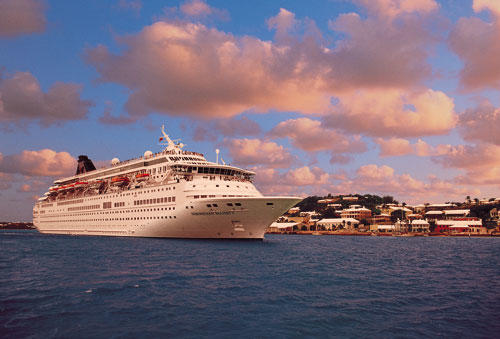 Norwegian Cruise Line sails the Majesty of the Seas from Baltimore to Bermuda.