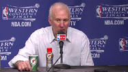 Video: Popovich lauds Parker after Spurs' sweep