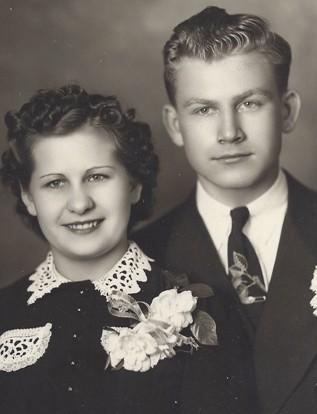 Marvin and Vi Lorenzen of Aberdeen will celebrate their 70th wedding anniversary on  May 29th. Greetings may be sent to 2821 3rd Ave SE # 403 Aberdeen SD 57401.