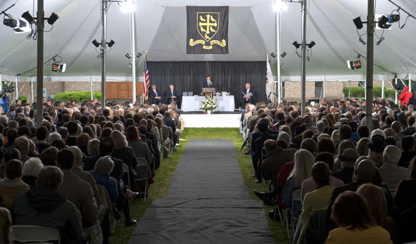 Westminster School in Simsbury celeberated its 125th commencement ceremony on Saturday.