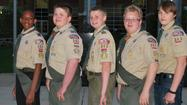 Orland Park Boy Scout Troop 383 has enjoyed many milestones during its two and a half year history. At its Spring Court of Honor, the national award winning troop observed its scouts' earned merit badges and rank advancements.