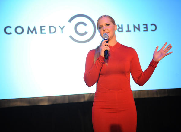 "Amy Schumer at an ""Inside Amy Schumer"" premiere screening party in New York."