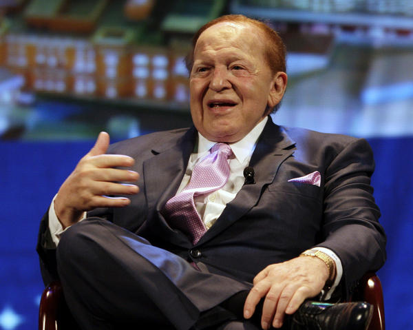 Sheldon Adelson in 2008.