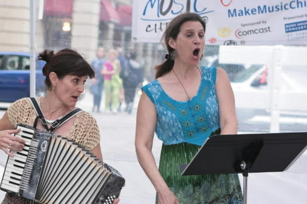 French cabaret music, community jams, a Sousapalooza and more are part of Make Music Chicago, with amateur and professional musicians and artists participating, taking place at various locations around Chicago.