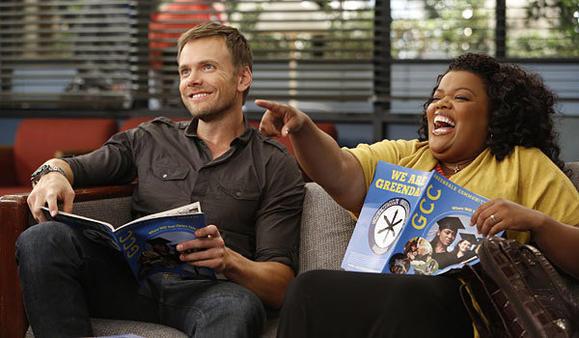 """Joel McHale and Yvette Nicole Brown star in """"Community."""""""