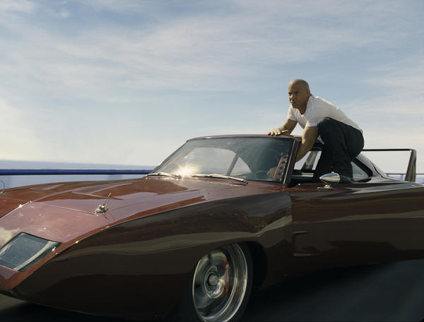 "Vin Diesel as Dom in ""Fast & Furious 6""."