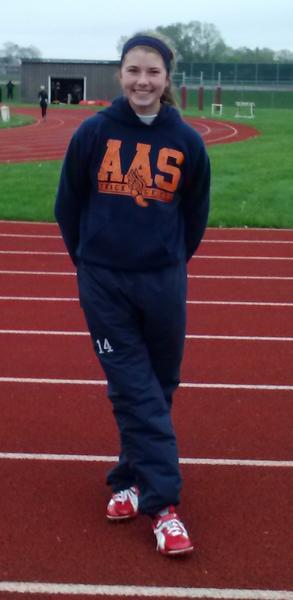 Stagg High School track athlete Elle Mannix overcame injuries to have a record-breaking season.
