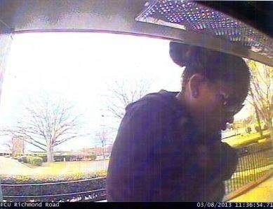 The York-Poquoson Sheriff's Office is looking for information on this woman who is suspected of using a stolen ATM card.