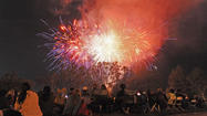 Photo Gallery: Fiesta Days - Fireworks at the park