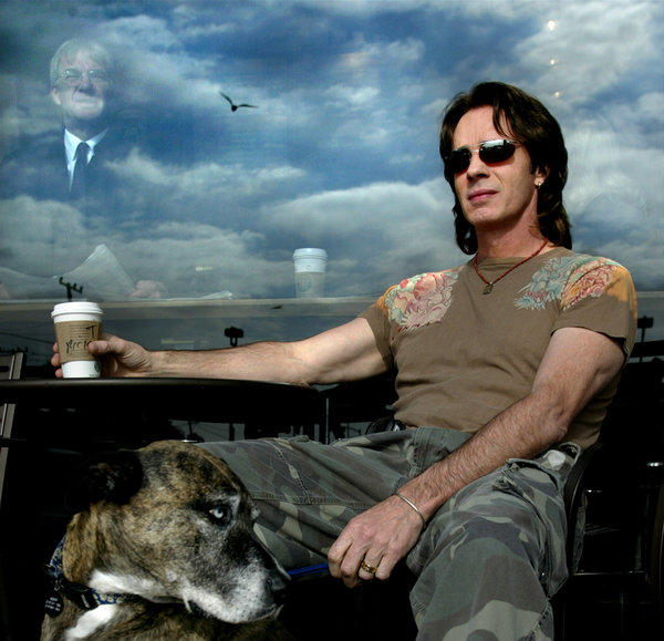 Rick Springfield, seen in a 2004 L.A. Times portrait, will publish his first novel in 2014.