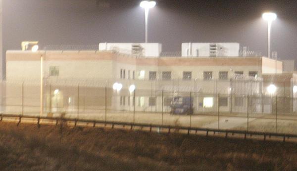 A light fog shrouds a section of Atascadero State Hospital.