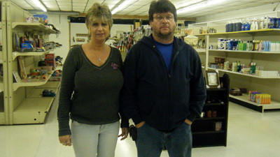 Paula Contrillo and Keith Ross opened PK's Consignment and Flea Market at 366 Rock Cut Road in Central City May 1.