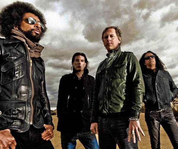 Alice In Chains members William DuVall, left, Sean Kinney, Jerry Cantrell and Mike Inez.