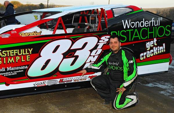 "Nazareth driver Mike Mammana said, ""With a fast car, a fresh engine and some good weather for the coming week on Friday, I've never felt so confident about our chances of winning a race like I am right now."""