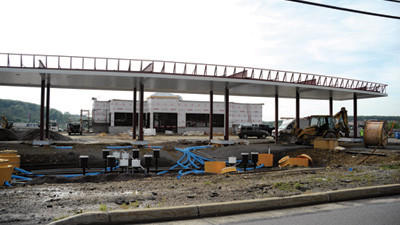 A bigger Sheetz along North Center Avenue in Somerset is slated to open in August.