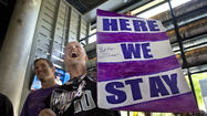 NBA owners vote to keep Kings in Sacramento