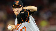 WASHINGTON -- Highly anticipated Orioles rookie Kevin Gausman still hasn't appeared in a game at Camden Yards, but his education at the major league level continued Tuesday night just a short drive down the Baltimore-Washington Parkway.