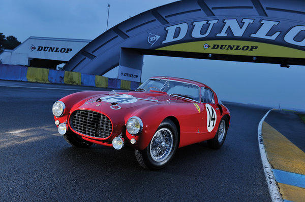 This 1953 Ferrari 340/375 MM Pinin Farina Berlinetta `Competizione' sold for nearly $13 million, including buyer's premium, at a weekend auction in Italy.