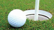 SCULLTON — Robert Grove, Butch Metz and Neil Pile combined to shoot an 11-under par for first place in the King's Mountain senior golf scramble Tuesday.