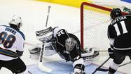 LOS ANGELES -- Justin Williams weaved his Game 7 magic, and Jonathan Quick slammed the door.
