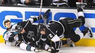 Kings, Dustin Penner, Matt Greene, Sharks