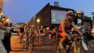 The Baltimore Bike Party is taking over the streets in style