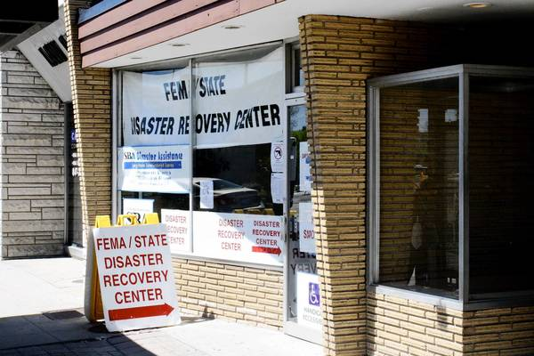 FEMA opened a disaster recovery center at 1486 Miner St. in downtown Des Plaines.