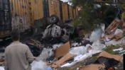 Train accident scene and rescue in Rosedale [Video]