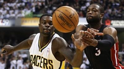 Stephenson's success catching Wade, Heat off guard