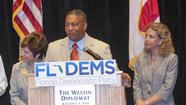 Democrats are facing a rebellion among party activists over the state party chairwoman's decision to deny gubernatorial candidate Nan Rich of Weston a speaking spot at the big Democratic fundraising gala next month in Hollywood.